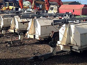 Used Generators and Lighting Towers