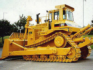 Used Caterpillar D9 Bulldozers