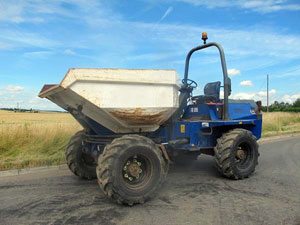 Used Terex Benford PS6000 Dumpers