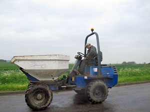 Used Terex Benford PS3000 Dumpers